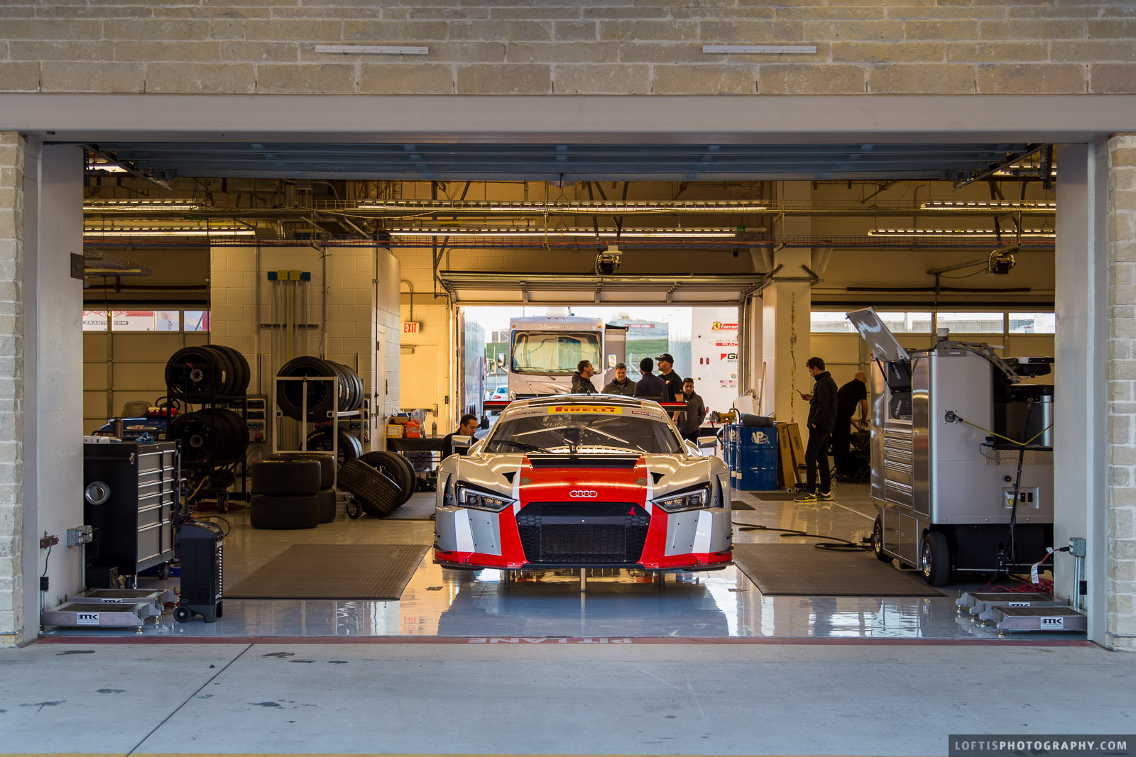 M1 GT Racing Test at Circuit of the Americas